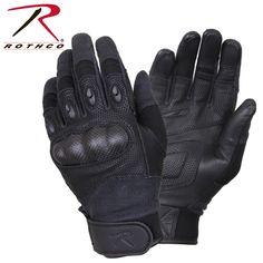 Rothco Carbon Fiber Hard Knuckle Tactical Gloves