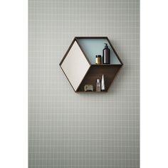 Wall Wonder spegel, ek – Ferm Living – Köp online på Rum21.se