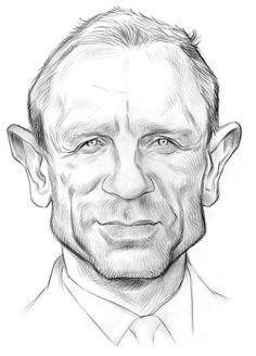 ARTIST: Vincent Altamore TITLE: Misc. Caricatures