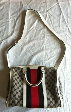 omg. ~AUTHENTIC GUCCI MONOGRAM LEATHER CROSSBODY TOTE BAG (BEYOND WORDS!) ~