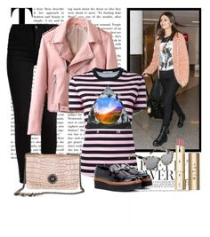 """""""Graphic Print Tops"""" by janie-xox ❤ liked on Polyvore featuring Givenchy, Tod's and Stila"""