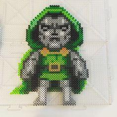 Doctor Doom - Fantastic Four perler beads by Jake Tastic