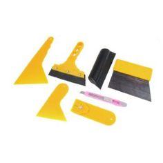 6804d70bad7 7 In 1 Window Sun Light Filter Installation Tint Tool Yellow for Car Truck  Repair