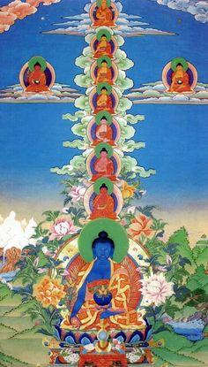 Medicine Buddhas rabıta
