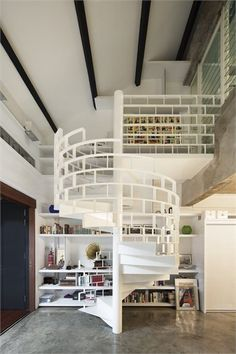 The Brick Loft - Singapore, Singapore - 2011 - FARM  #architecture #design #stair