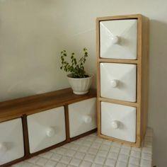 スパイスラック W ceramic drawerの画像