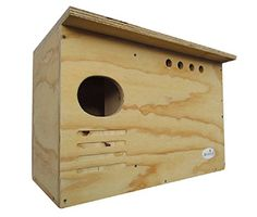 Barn Owl Nest box Large House Hand crafted in USA Bird House Plans, Bird House Kits, Owl House, Owl Nest Box, Owl Box, Owl Wings, Owl Wallpaper, Bird Aviary, Nesting Boxes