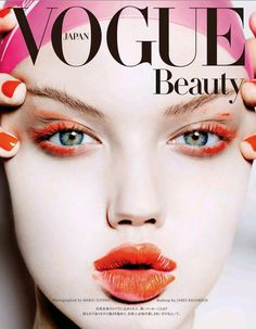 Lindsey Wixson for the Vogue Japan November 2014 issue, photographed by Mario Testino