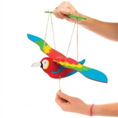 Buy Seagull Wooden Puppet Kits at Baker Ross. These winged wonders will be flying off the shelves! Here's a seagull that won't swoop down and pinch your sandwiches - Bird Puppet, Wooden Puppet, Preschool Learning Activities, Art Activities, Bird Crafts, Paper Crafts, Flapping Bird, Seaside Art, Crafts For Kids