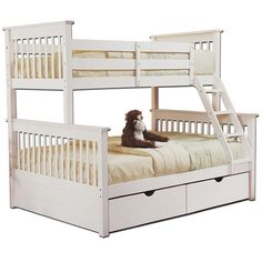 Best Maxtrixkids Slick Cp Twin Full Low Med Bunk W Angle 640 x 480
