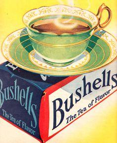 Bushells - The Tea of Flavor; Pix Vol. 30 No. Coffee Pictures, Coffee Pics, Aus Day, Good Morning Coffee, Cuppa Tea, Tea Art, Loose Leaf Tea, Tea Accessories, The Good Old Days