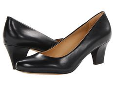 Trotters Penelope Black Glazed Kid Leather - Zappos.com Free Shipping BOTH Ways