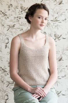 aster by dawn catanzaro / quince & co kestrel in senza