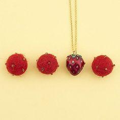 ✨  Our Strawberries are back! ✨ #BillSkinner #StrawberryJewellery #Strawberry #Summer