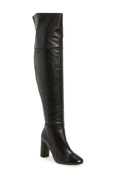 Topshop Topshop 'Collide' Over the Knee Boot (Women) available at #Nordstrom