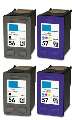 43.69$  Know more - http://aiv31.worlditems.win/all/product.php?id=32544879044 - 4pcs compatible Ink Cartridges for hp56 57 c6656a c6657a for hp HP PSC 1100 1110 1200 1205 1209 1210 1210A2L 1210V