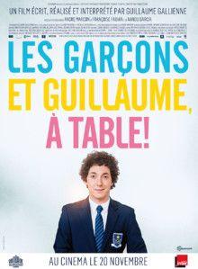 Les Garçons et Guillaume, à table ! Film de Guillaume Gallienne (2013)