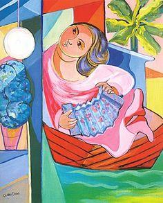 Obra de Cícero Dias - Pintor Brasileiro http://viajerosbrasilperublognoticias.blogspot.com.br/