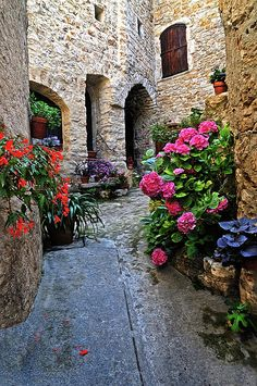 ✯ Colorful Walkway in Provence