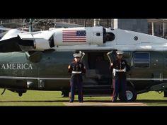 ▶ Whitehawk VH-60N van President Obama op RijksMuseumplein - 10 hélicos sur Amsterdam!