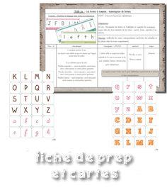 La maternelle de Laurène: Boites à compter - transcription de lettres Transcription, Periodic Table, Education, Orientation, Montessori, Periodic Table Chart, Periotic Table, Onderwijs, Learning