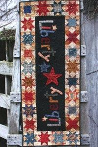 Primitive Folk Art Quilt Pattern - Liberty