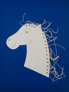 White horse - sv. Martin