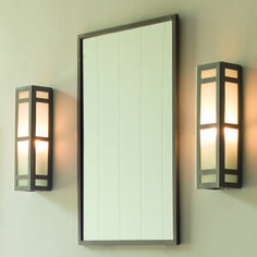 These polished #lights give off a warm gentle #glow, they are from our Hinton Collection