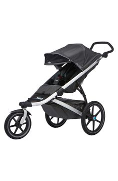 Keeping the little one comfortable while navigating the sidewalks with this lightweight jogging stroller that features a highly maneuverable front swivel wheel and ergonomic, adjustable-height handlebar. It's the perfect Anniversary Sale find for the new mom.