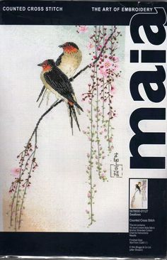 Anchor Maia 01127 Swallows cross stitch