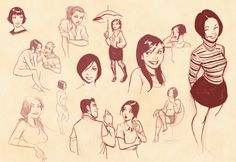 Oscar Jimenez. Awesome sketches, 'sigh' when you see good work, it is a remember that there is so far to go!