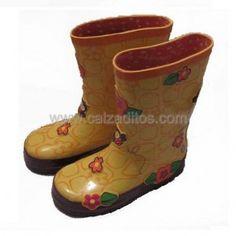 42ba8811d55 Catiuscas para niño o niña en caucho 100%. Botas infantiles de lluvia.  ENVIO GRATIS.