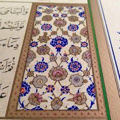 Her gün bir nefes. #tezhip #karahisari #islamicArt #illumination #güzelSanatlar