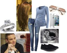 """Doctors with your husband Liam to see you baby (:"" by raechelk on Polyvore"