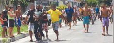 Blog do Diogenes Bandeira: Marginal acusado de roubo é amarrado, arrastado e ...