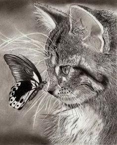 """Résultat de recherche d'images pour """"beau dessin chat"""""""