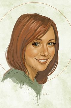 Willow from Buffy the Vampire Slayer by Phil Noto #philnoto