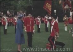 On Thursday May 14th in 1981 Lady Diana Spencer attended the presentation of the new colours ceremony to the First Battalion of Welsh Guards at Windsor Castle.
