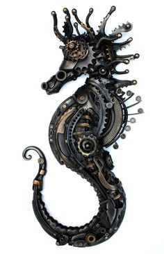 Steampunk Tendencies | Alan Williams sent me his latest work, 70cm...