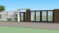 Modern gate - 3D Warehouse                                                                                                                                                                                 More