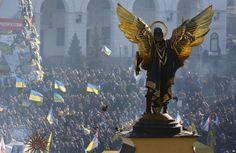 Ukraine President Suspends Officials over Protest Crackdown