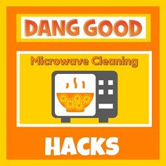 Microwave Cleaning Hacks using everyday Household Products. Dang Good Tips to make Microwave Cleaning easier. Freshen up your kitchen at the same time. Microwave Cleaning Hack, Microwave Bowls, Cleaning Hacks, Organization Hacks, Organizing, Safety Message, Microwaves Uses, Oven Glove