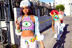 Customize your third eye crop top with by Acreativewonderland