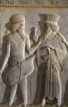 Imperial Iranian Achaemenian Median Archer (Left) and Persian Officer (Right) Ancient Mesopotamia, Ancient Civilizations, Ancient Mysteries, Ancient Artifacts, Ancient Aliens, Ancient History, Turm Von Babylon, Shiraz Iran, Persian Architecture