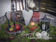 Herbstdeko on Pinterest Garten, Dekoration and Hillside Garden