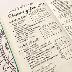 "#planwithmechallenge Day 13: ""Tried & True"" I've been spending a lot of time reflecting on what works and doesn't work for me in my #BulletJournal lately. Kim's @tinyrayofsunshine recent post about how she sets up a new notebook prompted me to create this spread to plan for my new notebook in 2016. I love the #reflection aspect of a spread like this one. It really forced me to sit down and think hard about what I want my bullet journal to be for me personally."