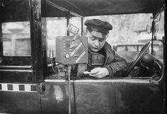 Berlin 1937Taxameter mit Quittungsdrucker