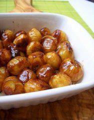 cebollitas glaseadas Pretzel Bites, Chutney, Bread, Fruit, Food, Tapas, Dressing, Gastronomia, Recipes