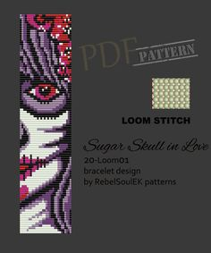 Loom Bracelet Patterns, Diy Friendship Bracelets Patterns, Bead Loom Bracelets, Bead Loom Patterns, Jewelry Patterns, Beading Patterns, Loom Bands, Cat Cross Stitches, Motifs Perler