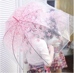 Cherry Blossom Umbrella (4 colors) via Cloud 97. Click on the image to see more!